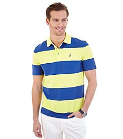 Nautica® Men's Short Sleeve Bold Stripe Polo