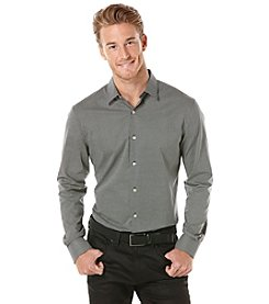Perry Ellis® Men's Long Sleeve Micro Print Woven Shirt