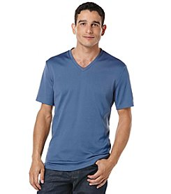 Perry Ellis® Men's Short Sleeve V-Neck Tee