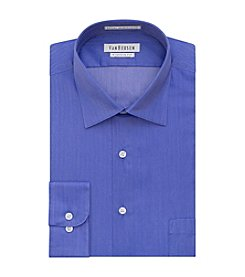 Van Heusen® Men's Regular Fit Herringbone Solid Dress Shirt