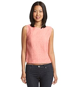 Vince Camuto® Sleeveless Crop Shell