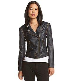 MICHAEL Michael Kors® Belted Moto Jacket