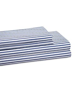 Elite Home Products Plantation Stripe Sheet Sets