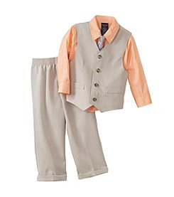 Nautica® Boys' 2T-4T Basketweave Vest Set