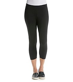 Relativity® Solid Capri Leggings
