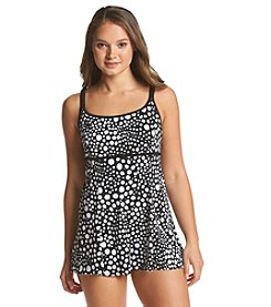 Studio Works® Candy Isle Empired Waist Swim Dress