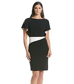 Lauren Ralph Lauren®Two Toned Day Dress