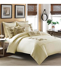 Tommy Bahama® Embroidered Botanical Bedding Collection