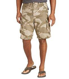 True Nation™ Men's Big & Tall Military Cargo Shorts