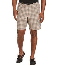 Oak Hill® Men's Big & Tall Waist-Relaxer Plaid Shorts