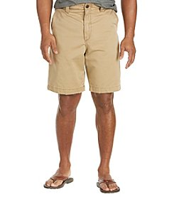 Society of One® Men's Big & Tall Flat Front Shorts