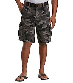 Society of One® Men's Big & Tall Rumpled Cargo Shorts