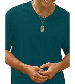 Harbor Bay® Men's Big & Tall Wicking V-Neck Tee