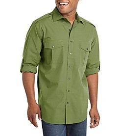 Synrgy Men's Big & Tall Officer Shirt