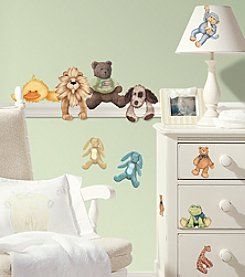 RoomMates Wall Decals Cuddle Buddies Peel & Stick Wall Decals