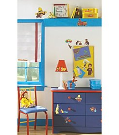 RoomMates Wall Decals Curious George Peel & Stick Wall Decals