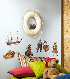 RoomMates Wall Decals Pirates Peel & Stick Wall Decals