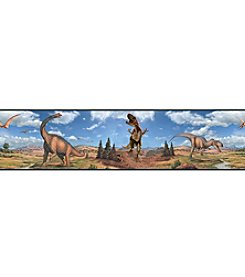 RoomMates Wall Decals Dinosaurs Peel & Stick Border