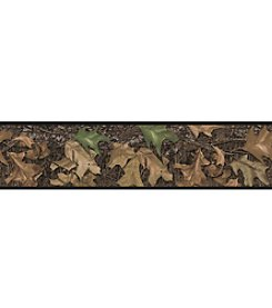 RoomMates Wall Decals Mossy Oak Camouflage Peel & Stick Border
