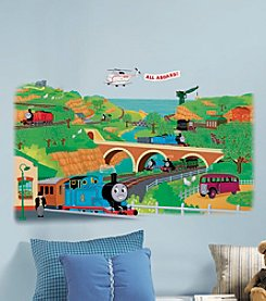 RoomMates Wall Decals Thomas & Friends Peel & Stick Giant Wall Decal