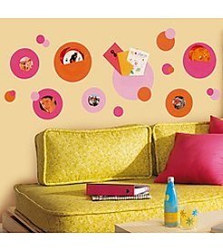 RoomMates Wall Decals Wallpockets Pink Peel & Stick Wall Decals