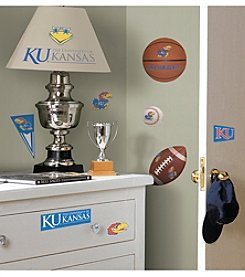 University of Kansas RoomMates Wall Decals Peel & Stick Wall Decals