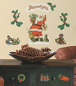 RoomMates Santa Claus Peel & Stick Wall Decals