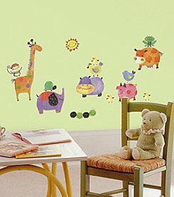RoomMates Polka Dot Piggy P&S Wall Decals