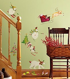 RoomMates Winter Holiday P&S Wall Decals