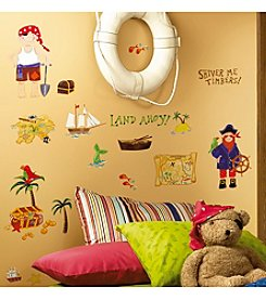 RoomMates Wall Decals Treasure Hunt Peel & Stick Wall Decals