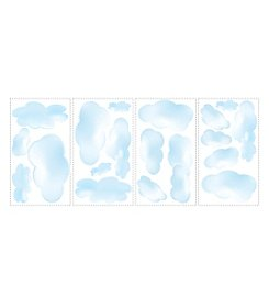 RoomMates Clouds Peel & Stick Wall Decals