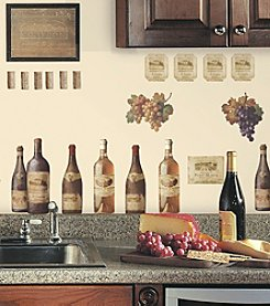 RoomMates Wine Tasting Peel & Stick Wall Decals