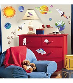 RoomMates Wall Decals Outer Space Peel & Stick Wall Decals