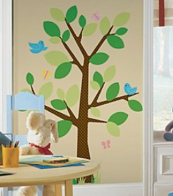 RoomMates Wall Decals Dotted Tree Peel & Stick Wall Decals
