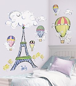 RoomMates Wall Decals Oh La La Peel & Stick MegaPack