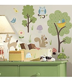 RoomMates Woodland Animals P&S Wall Decals