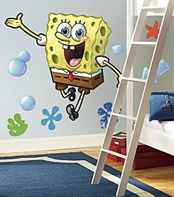 RoomMates Wall Decals SpongeBob Peel & Stick Giant Wall Decal