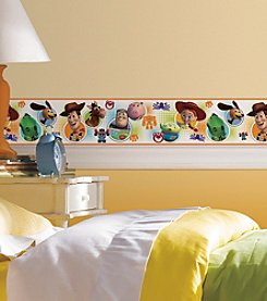 RoomMates Wall Decals Toy Story 3 Peel & Stick Border