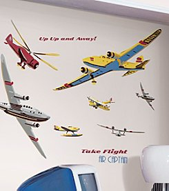 RoomMates Wall Decals Take Flight Peel & Stick MegaPack