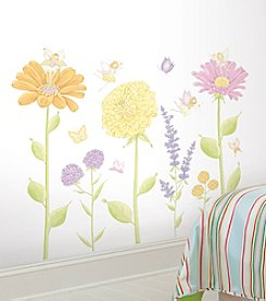 RoomMates Fairy Garden Peel & Stick Mega-Pack Decals