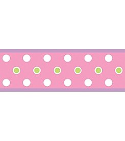 RoomMates Pink Dot Peel & Stick Border Decal