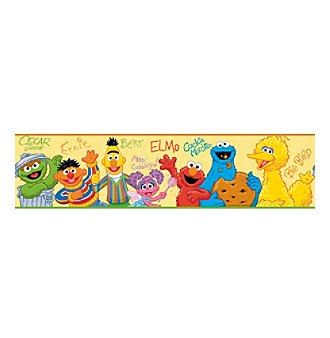 RoomMates Sesame Street™ Peel & Stick Border Decal