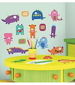 RoomMates Monsters P&S Wall Decals