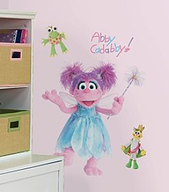 RoomMates Wall Decals Sesame Street Abby Peel & Stick Giant Wall Decal
