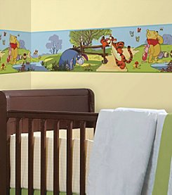 RoomMates Disney® Winnie the Pooh and Friends P&S Border Decal