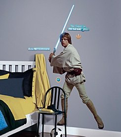 RoomMates Star Wars™ Classic Luke P&S Giant Wall Decals