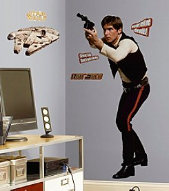 RoomMates Wall Decals Star Wars™ Classic Han Solo Peel & Stick Giant Wall Decals
