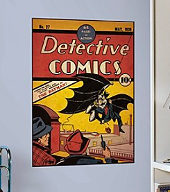 RoomMates Wall Decals Comic Book Cover Batman Issue 1 Peel & Stick Comic Cover