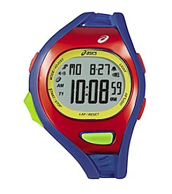 Asics® AR07 Blue/Red Running Watch