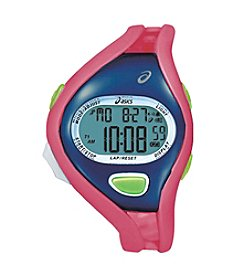 Asics® Entry Running Watch in Pink/Blue